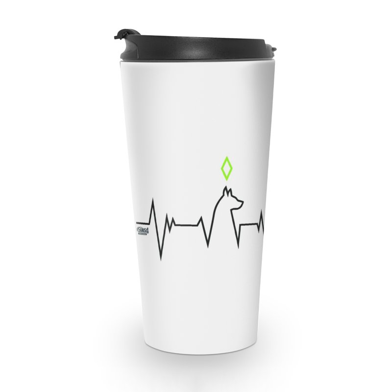 The Sims 4 Veterinarian - Dog Accessories Travel Mug by The Sims Official Threadless Store