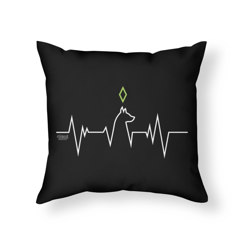 The Sims 4 Veterinarian - Dog Home Throw Pillow by The Sims Official Threadless Store