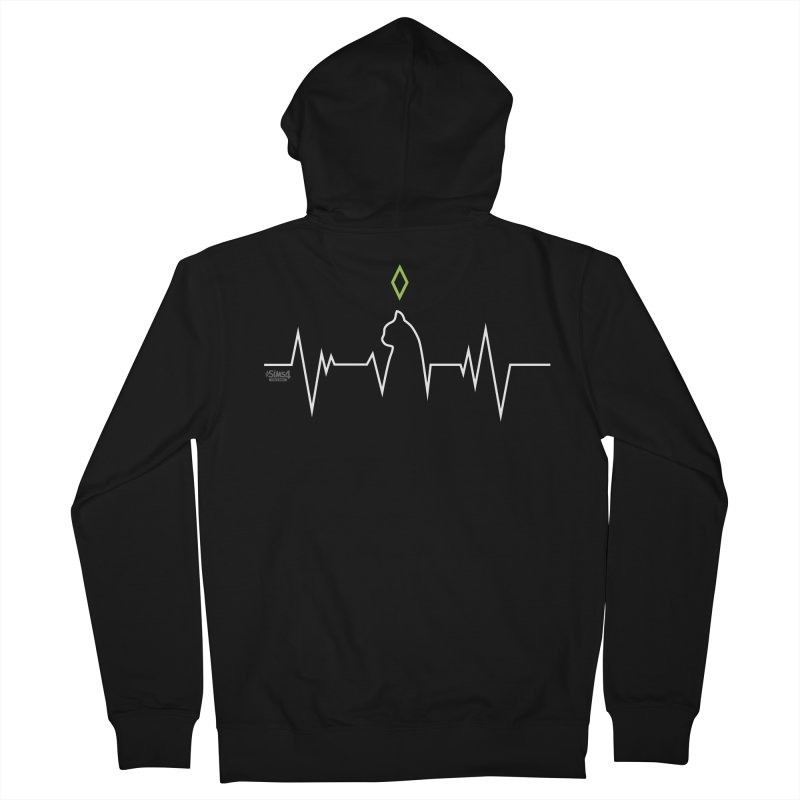The Sims 4 Veterinarian - Cat Women's Zip-Up Hoody by The Sims Official Threadless Store