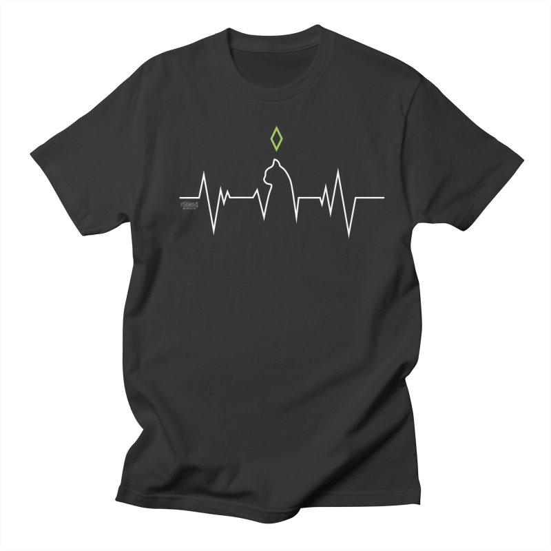 The Sims 4 Veterinarian - Cat in Men's T-Shirt Smoke by The Sims Official Threadless Store