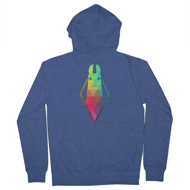 Awe-sim Llama Men's Zip-Up Hoody by The Sims Official Threadless Store