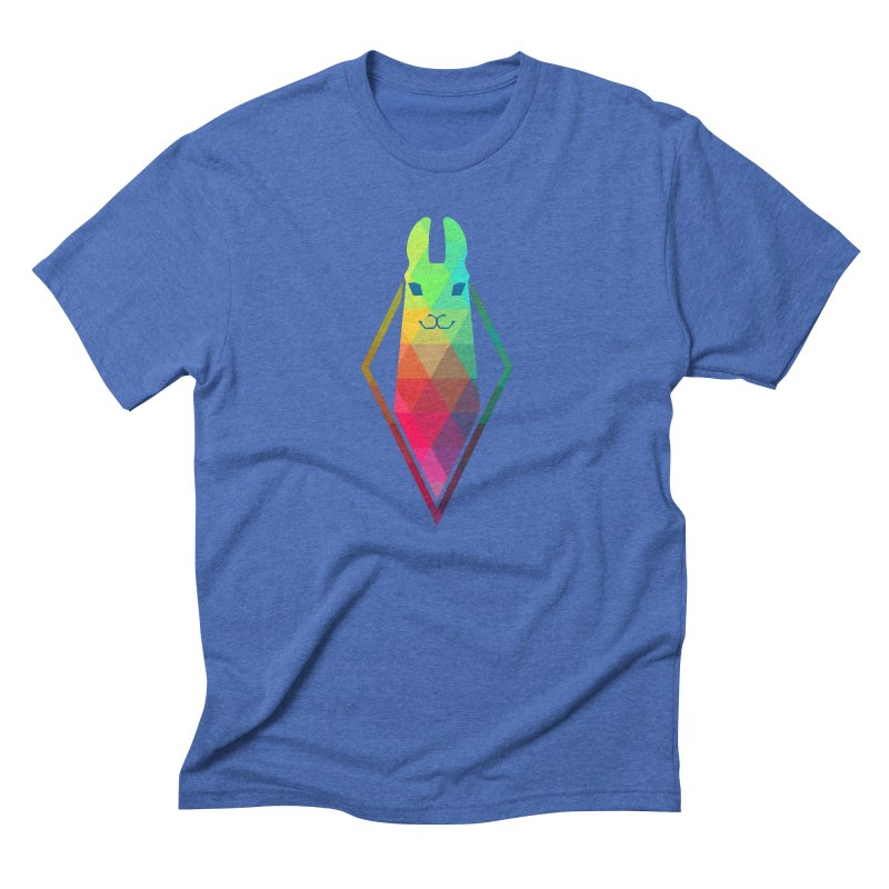 Awe-sim Llama Men's Triblend T-Shirt by The Sims Official Threadless Store