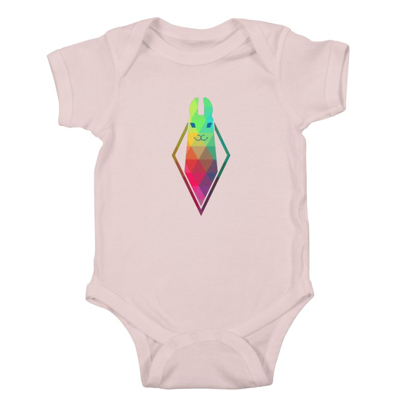 Awe-sim Llama Kids Baby Bodysuit by The Sims Official Threadless Store
