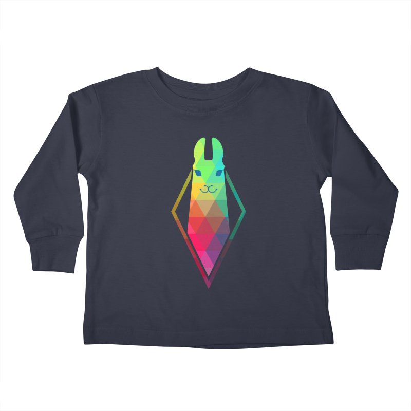 Awe-sim Llama Kids Toddler Longsleeve T-Shirt by The Sims Official Threadless Store