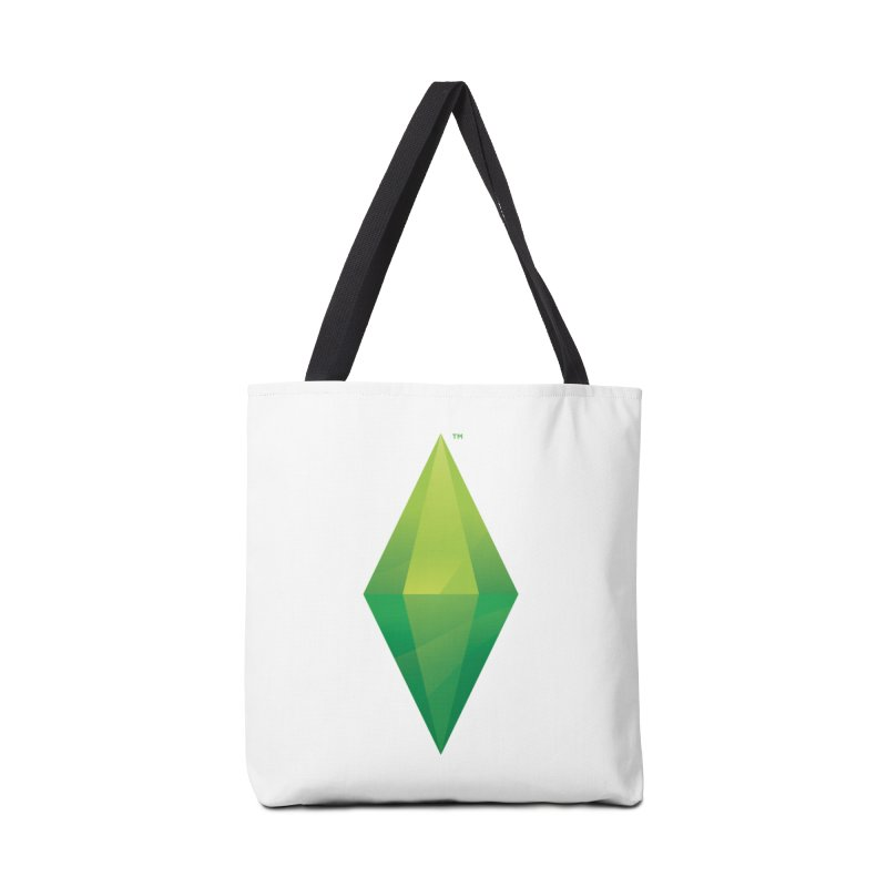 Green Plumbob Accessories Bag by The Sims Official Threadless Store