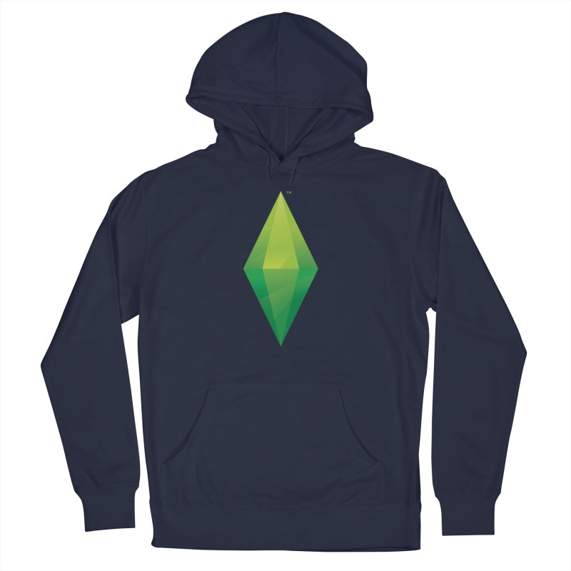 Green Plumbob Men's Pullover Hoody by The Sims Official Threadless Store