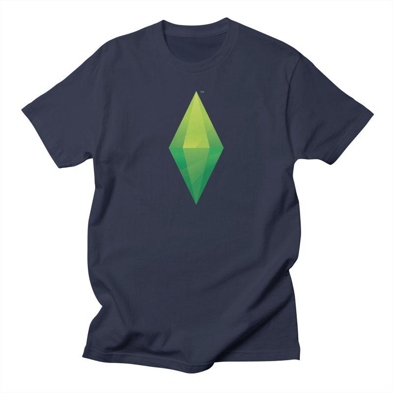 Green Plumbob Men's T-Shirt by The Sims Official Threadless Store