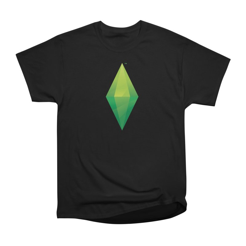 Green Plumbob Women's Classic Unisex T-Shirt by The Sims Official Threadless Store