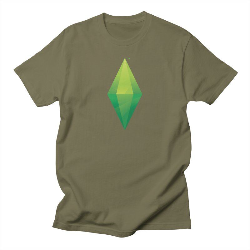 Green Plumbob Men's T-Shirt by The Sims Official Threadless Store