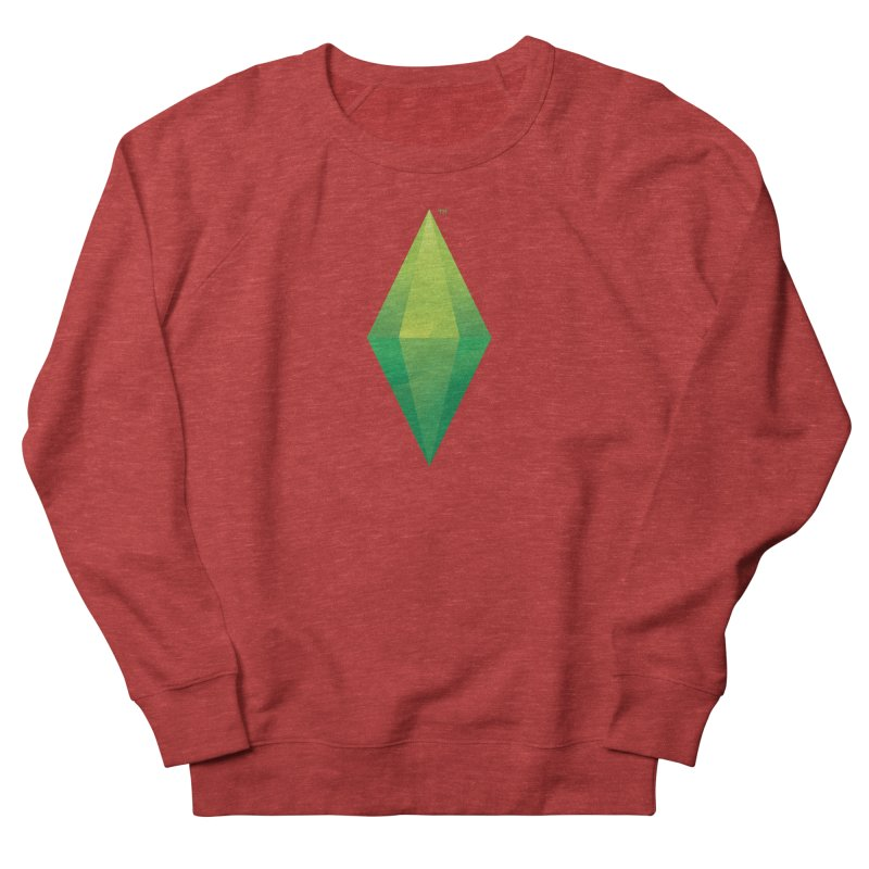 Green Plumbob Women's Sweatshirt by The Sims Official Threadless Store