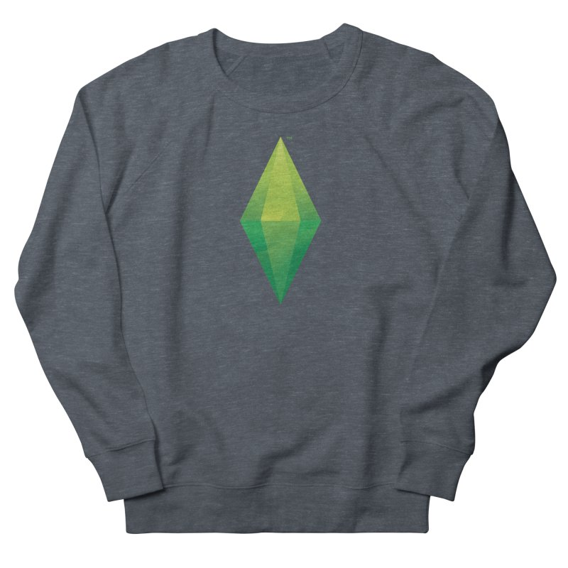 Green Plumbob Men's Sweatshirt by The Sims Official Threadless Store