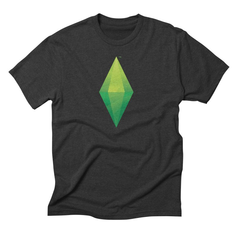 Green Plumbob Men's Triblend T-shirt by The Sims Official Threadless Store