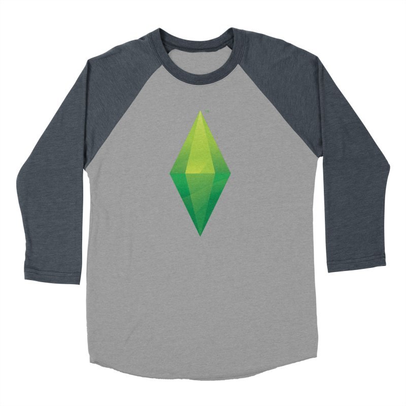 Green Plumbob Women's Baseball Triblend T-Shirt by The Sims Official Threadless Store
