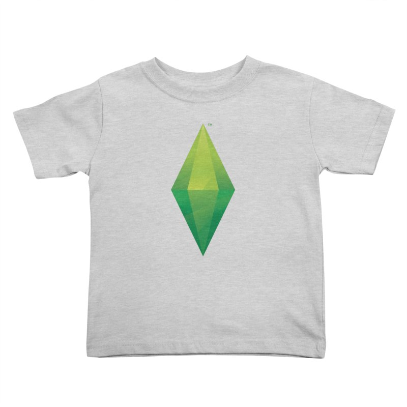 Green Plumbob Kids Toddler T-Shirt by The Sims Official Threadless Store