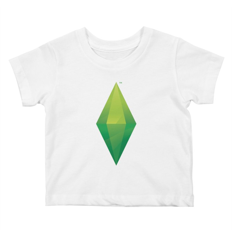 Green Plumbob Kids Baby T-Shirt by The Sims Official Threadless Store