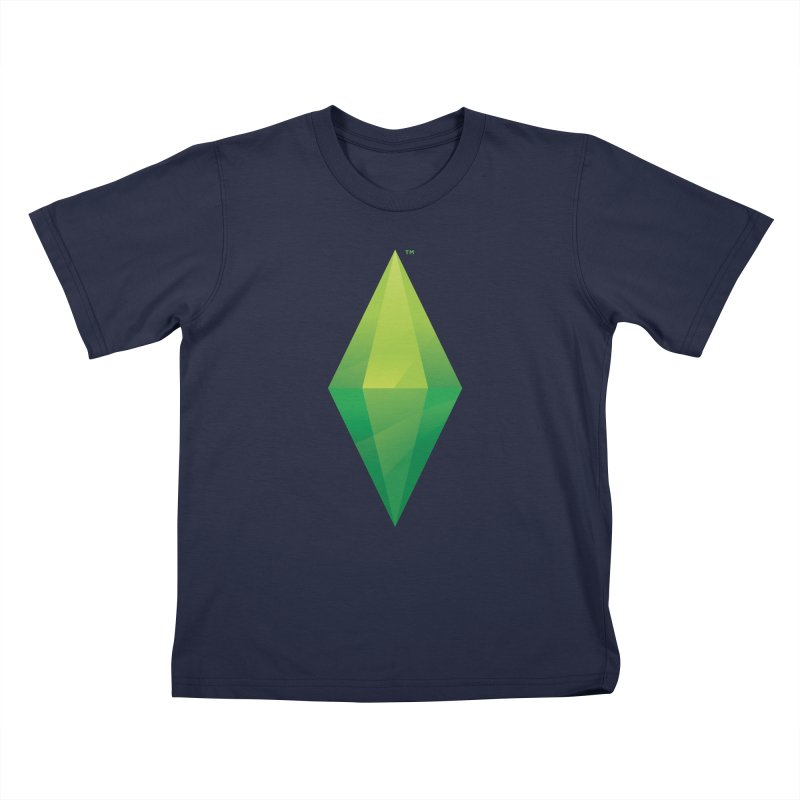 Green Plumbob Kids T-Shirt by The Sims Official Threadless Store