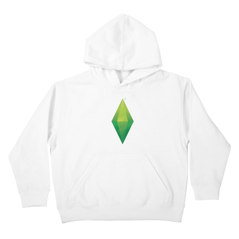 Green Plumbob Kids Pullover Hoody by The Sims Official Threadless Store