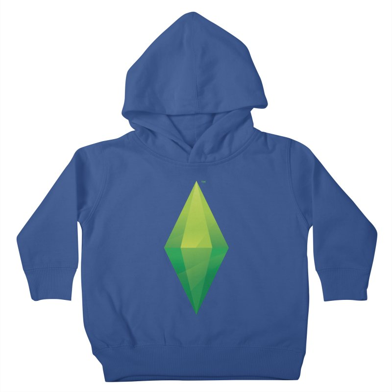 Green Plumbob Kids Toddler Pullover Hoody by The Sims Official Threadless Store