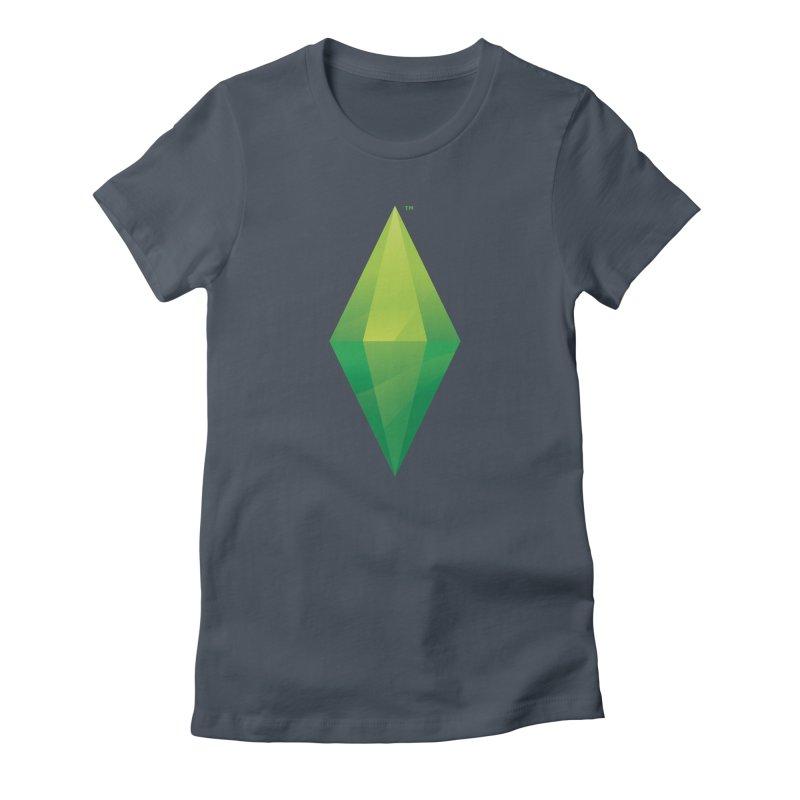 Green Plumbob Women's T-Shirt by The Sims Official Threadless Store