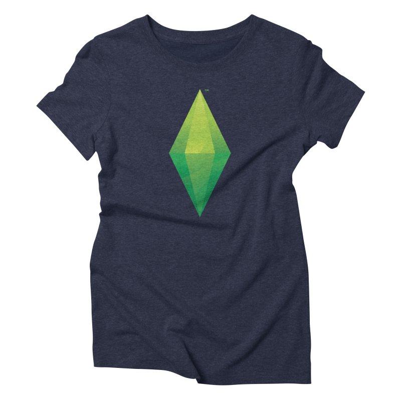 Green Plumbob Women's Triblend T-Shirt by The Sims Official Threadless Store