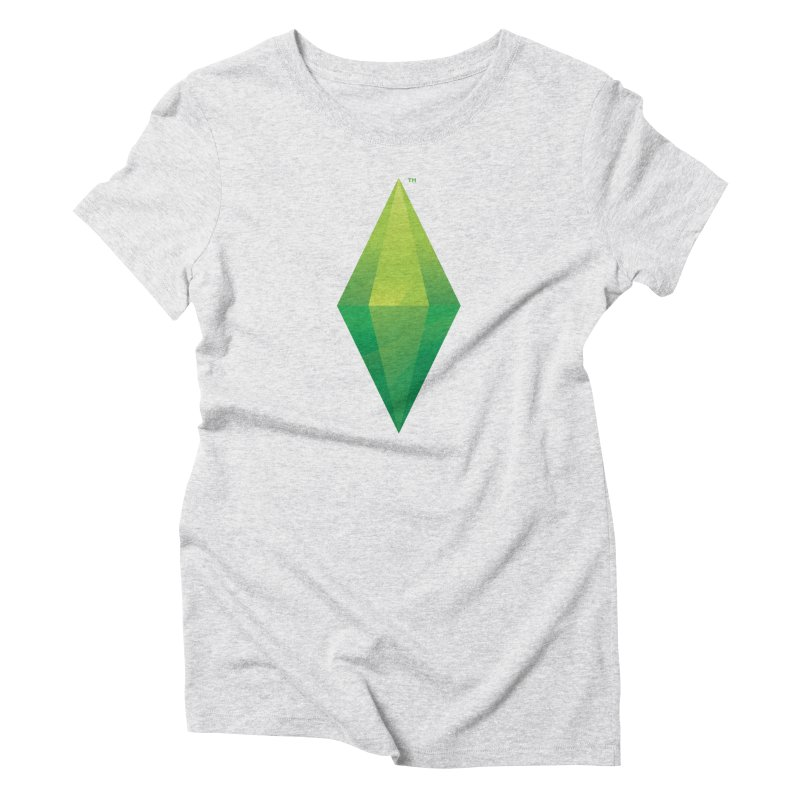 Green Plumbob Women's Triblend T-Shirt by The Sims Official Threadless Store