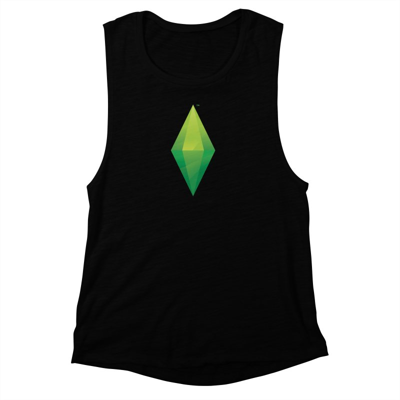 Green Plumbob Women's Muscle Tank by The Sims Official Threadless Store