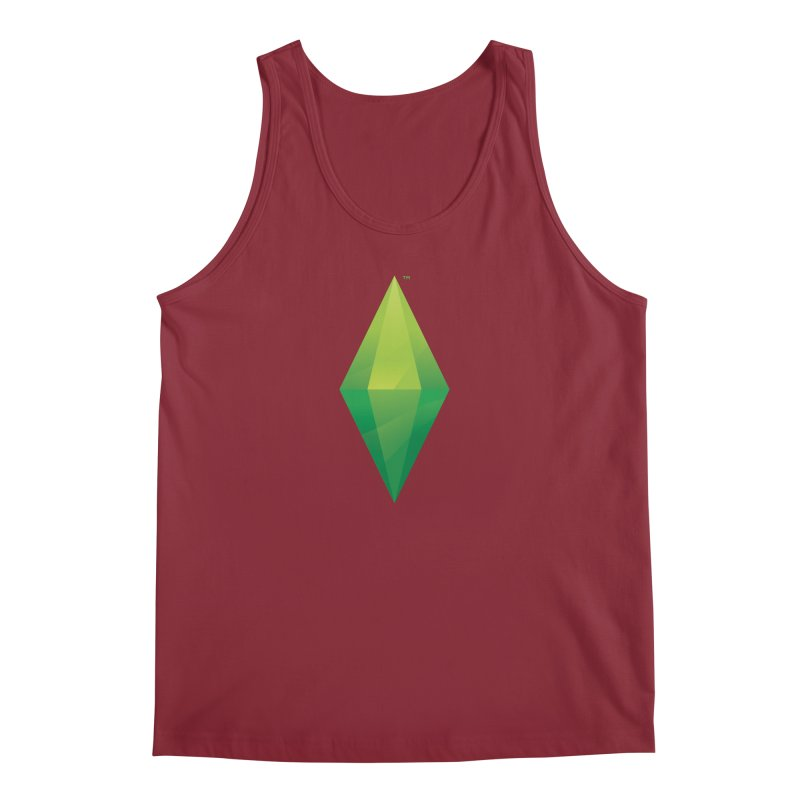Green Plumbob Men's Tank by The Sims Official Threadless Store