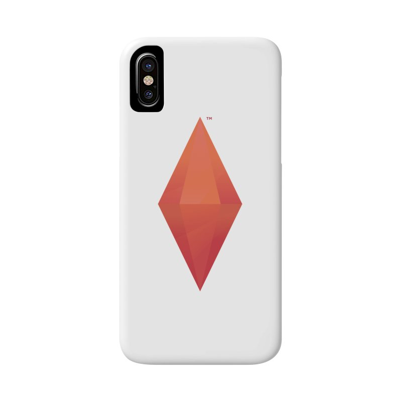 Red Plumbob Accessories Phone Case by The Sims Official Threadless Store