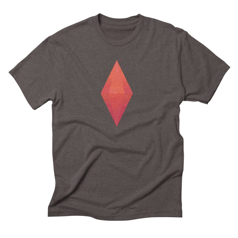 Red Plumbob Men's Triblend T-shirt by The Sims Official Threadless Store