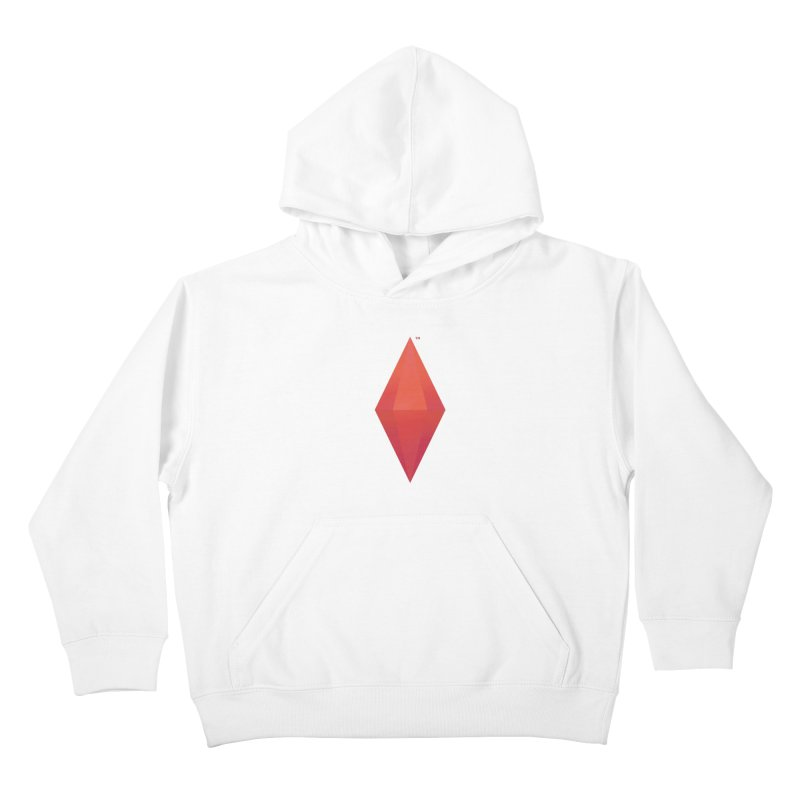 Red Plumbob Kids Pullover Hoody by The Sims Official Threadless Store