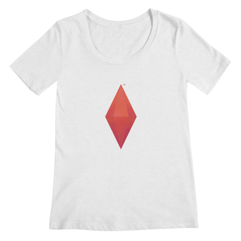 Red Plumbob Women's Scoopneck by The Sims Official Threadless Store