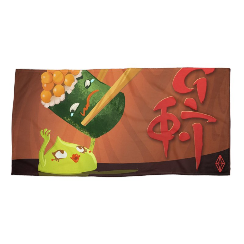 Wasabi Romance Accessories Beach Towel by The Sims Official Threadless Store