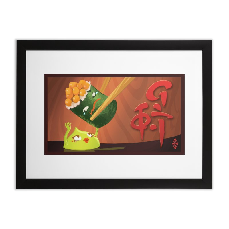 Wasabi Romance Home Framed Fine Art Print by The Sims Official Threadless Store