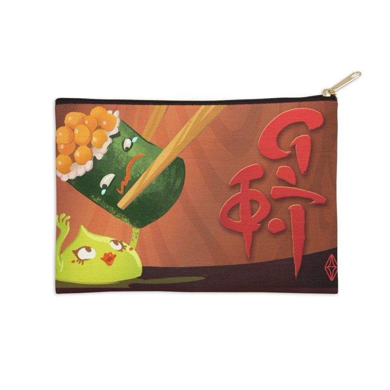Wasabi Romance Accessories Zip Pouch by The Sims Official Threadless Store