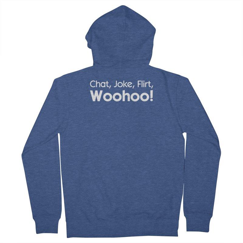 Chat, Joke, Flirt, Woohoo! Women's Zip-Up Hoody by The Sims Official Threadless Store