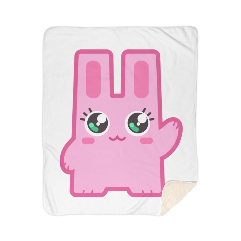 Freezer Bunny Home Sherpa Blanket Blanket by The Sims Official Threadless Store