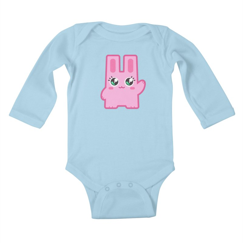 Freezer Bunny Kids Baby Longsleeve Bodysuit by The Sims Official Threadless Store