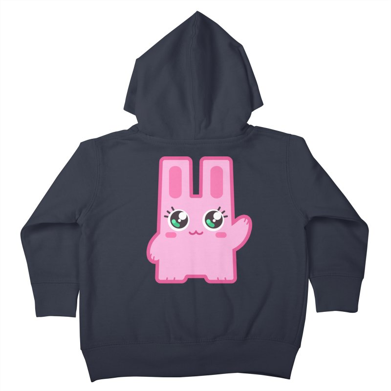 Freezer Bunny Kids Toddler Zip-Up Hoody by The Sims Official Threadless Store