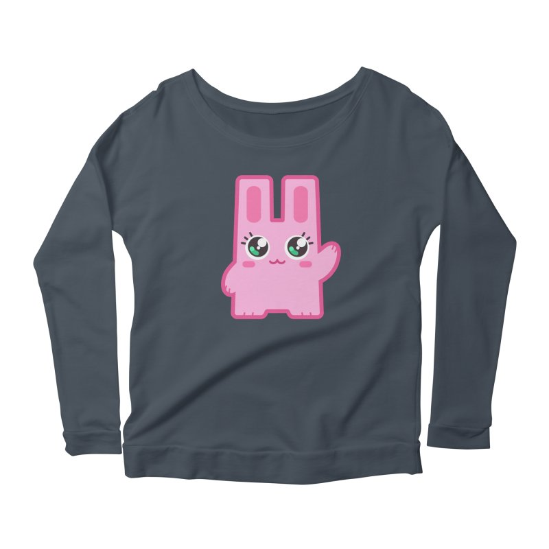 Freezer Bunny Women's Longsleeve Scoopneck  by The Sims Official Threadless Store