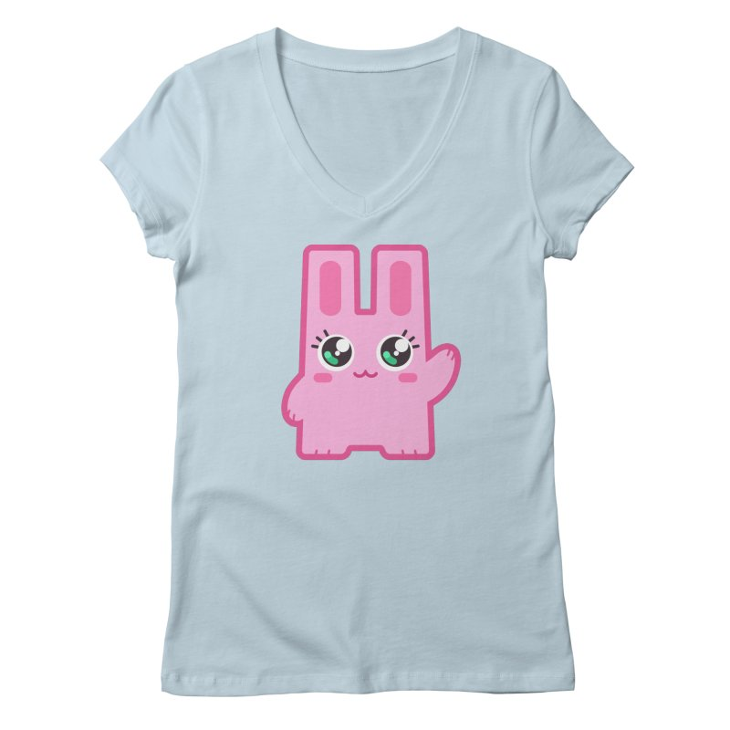 Freezer Bunny Women's V-Neck by The Sims Official Threadless Store
