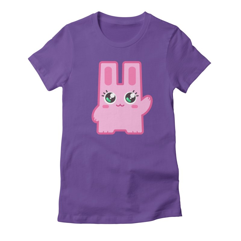 Freezer Bunny Women's Fitted T-Shirt by The Sims Official Threadless Store