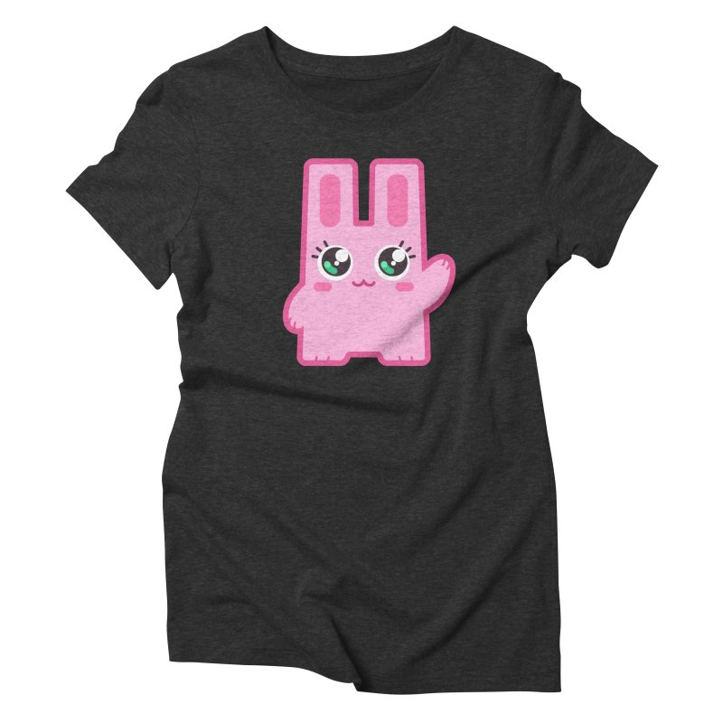 Freezer Bunny Women's Triblend T-Shirt by The Sims Official Threadless Store