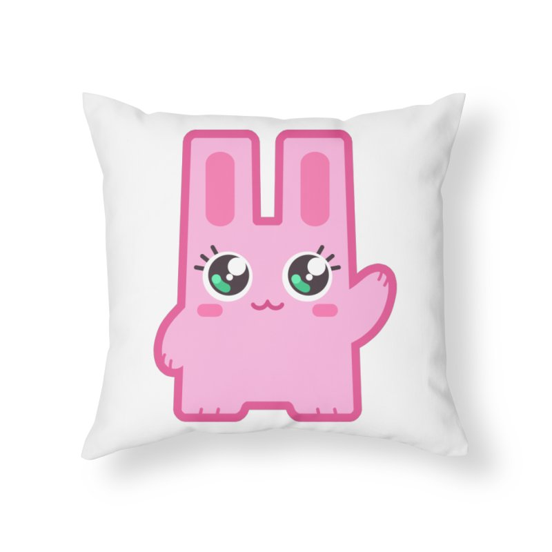 Freezer Bunny Home Throw Pillow by The Sims Official Threadless Store