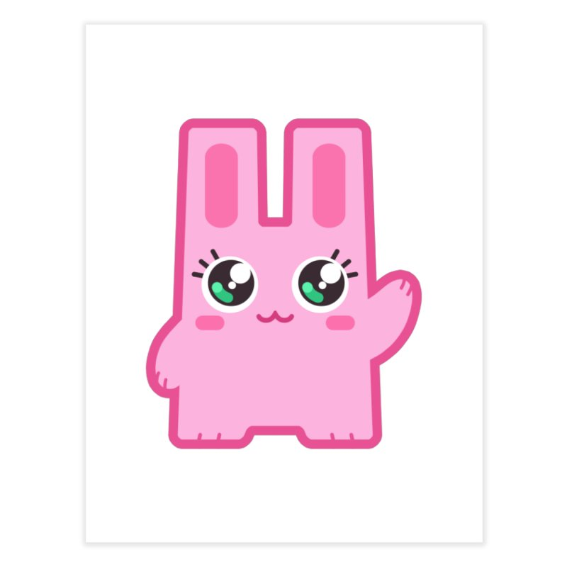 Freezer Bunny Home Fine Art Print by The Sims Official Threadless Store