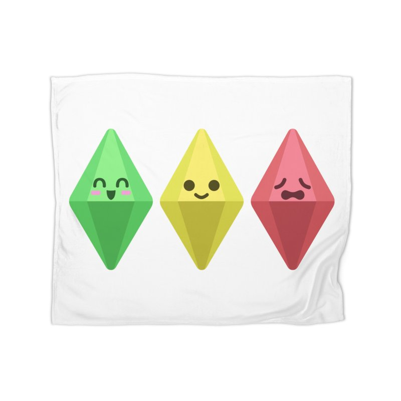 The Sims 18th Anniversary Home Fleece Blanket Blanket by The Sims Official Threadless Store