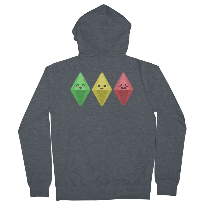 The Sims 18th Anniversary Women's Zip-Up Hoody by The Sims Official Threadless Store