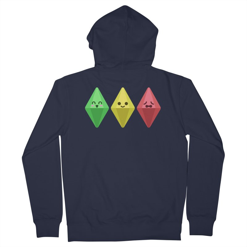 The Sims 18th Anniversary Men's Zip-Up Hoody by The Sims Official Threadless Store