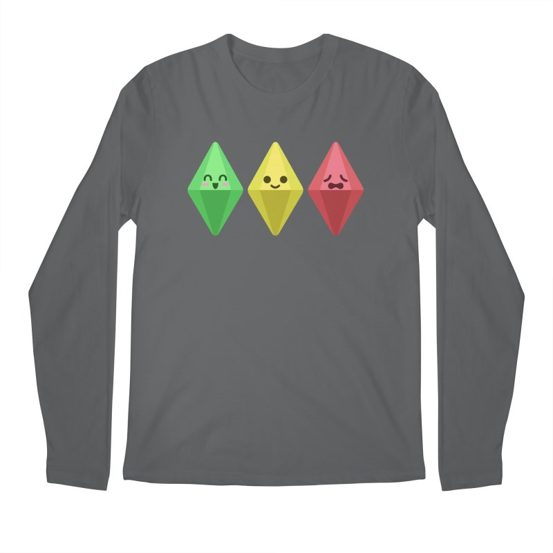 The Sims 18th Anniversary Men's Longsleeve T-Shirt by The Sims Official Threadless Store