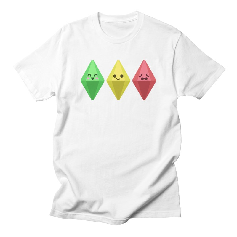 The Sims 18th Anniversary in Men's T-Shirt White by The Sims Official Threadless Store