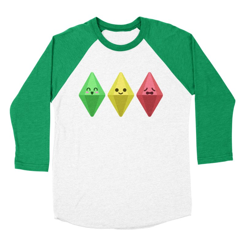 The Sims 18th Anniversary Women's Baseball Triblend T-Shirt by The Sims Official Threadless Store